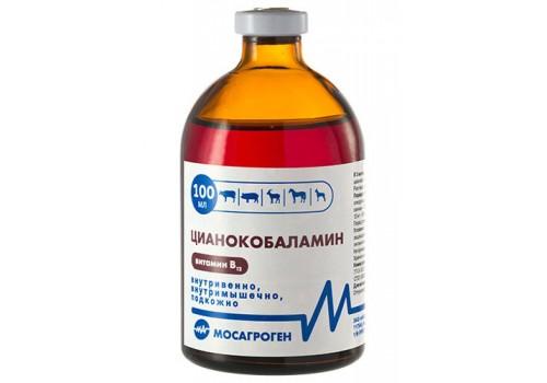 Цианокобаламин (витамин В12) 100 мл