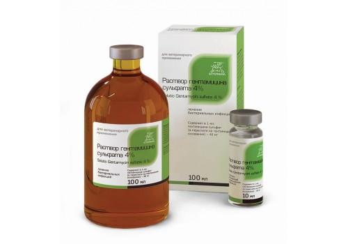 Раствор гентамицина сульфата 4%