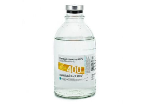 Раствор глюкозы 40%