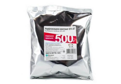 Норфлоксацина никотинат 20% БТ