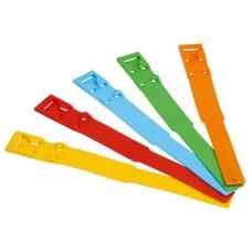 Лента ножная из пластмассы для обозначения коров в стойлах в беспривязном содержании скота