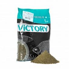 Прикормка рыболовная VICTORY для ЛЕЩА (черная)